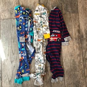 3 Pairs of Baby Boy's Carter's Pajamas